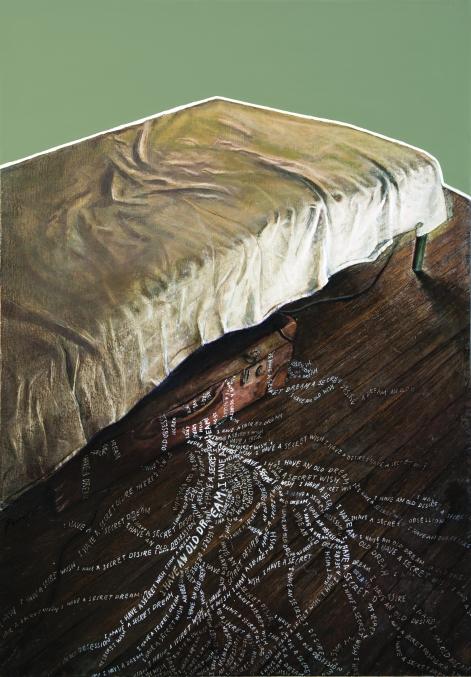 17-Ο κρυφός μου πόθος 1, 2011, δίπτυχο, λάδι και καμβάς σε ξύλο, 55Χ80εκ. έκαστο.jpg
